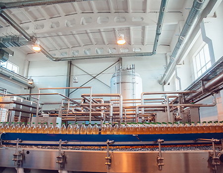 conveyer belt brewery