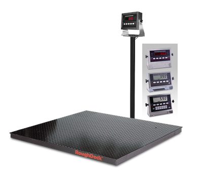 Rice Lake Floor Scale Weighing Technology