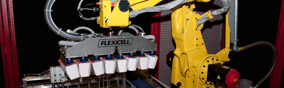 Flexicell Cup Case Packing Systems