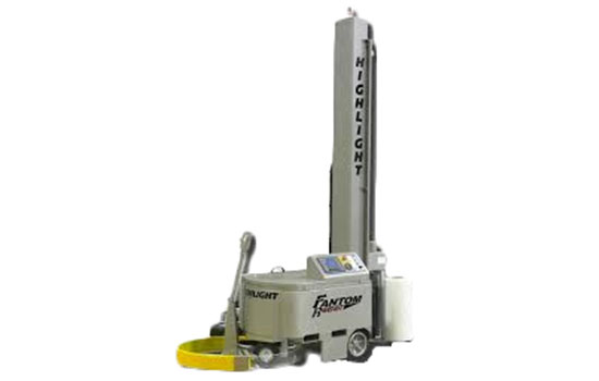 Fantom Robot, Mobile stretch wrapping systems.