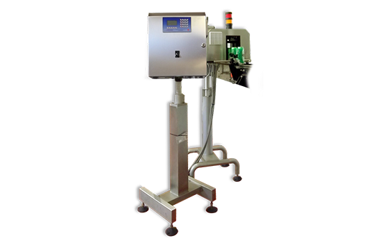 FT System - RX XRAY. To measure changes in the fill level.