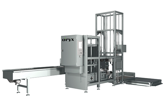 ORYX Automation Stacker/palletizer